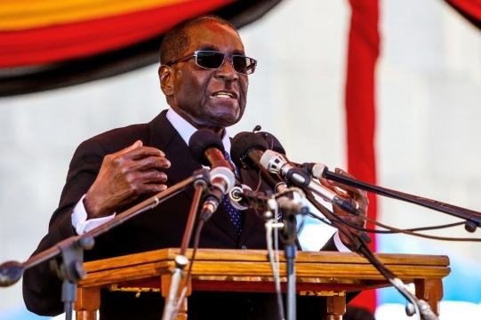 Mugabe's party defends Zimbabwe leader after mass rally - yahoo.com