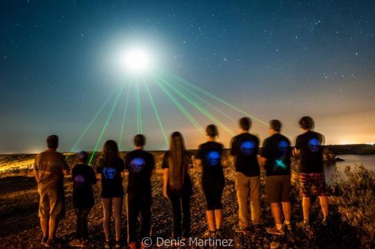 La Fundación Astrónomos Aficionados Hemisferio Sur se prepara para la observación del evento celeste
