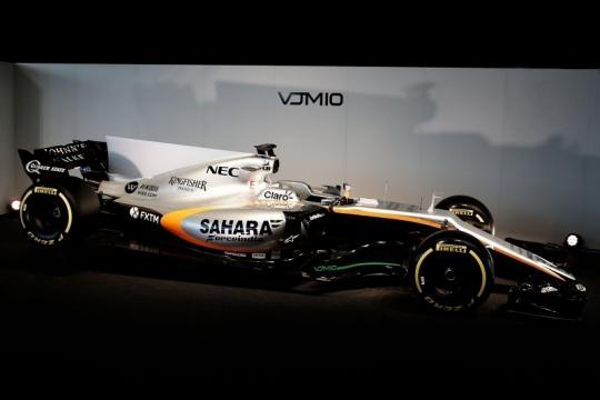 la VJM 10 che sarà guidata da Perez e da Ocon