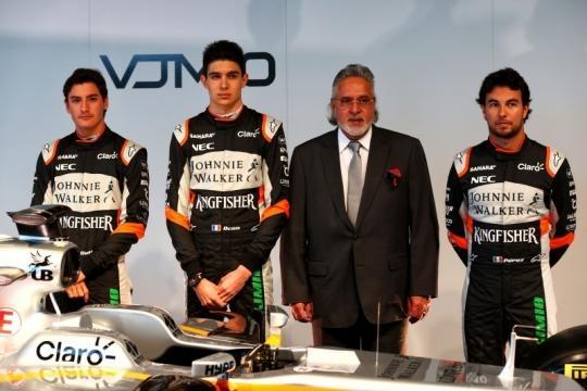 Rinnovate ambizioni per il campionato 2017. I piloti Sergio Perez, Esteban Ocon e il terzo Alfonso Celis Jr