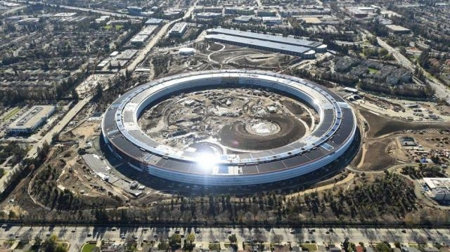 Apple's 'spaceship' campus to begin boarding in April | South ... - scmp.com