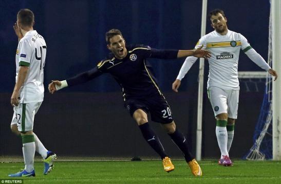 Dinamo Zagreb 4-3 Celtic: Marco Pjaca hat-trick breathes life into ... - dailymail.co.uk