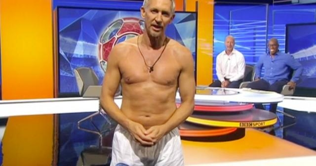 Gary Lineker defends Match of the Day underwear choice following ... - mirror.co.uk