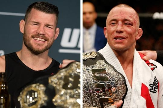 Michael Bisping vs Georges St Pierre. Official information about fight - fightsday.com