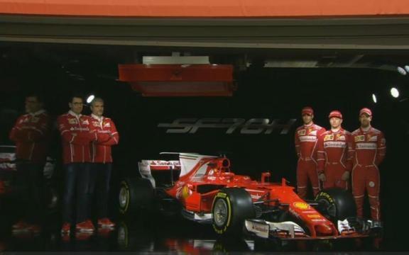 Presentazione: nuova Ferrari SF70H