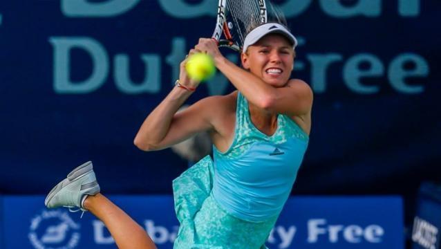 Wozniacki chases 26th WTA singles title as she takes on Elina Svitolina in the Dubai Open Final 2017 picture by dubaidutyfreetennischampionships.com