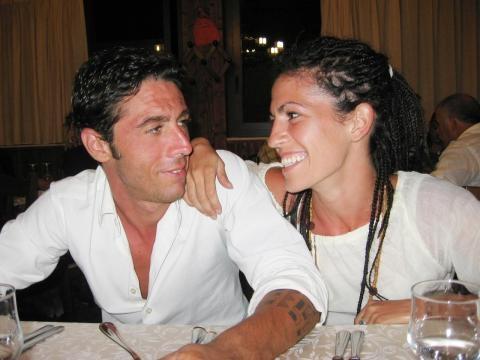 Dj Fabo e la sua compagna. Fonte Corriere della Sera