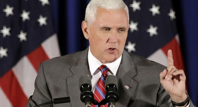 Pence denies Trump camp in cahoots with WikiLeaks / Photo by Politico.com via Blasting News library