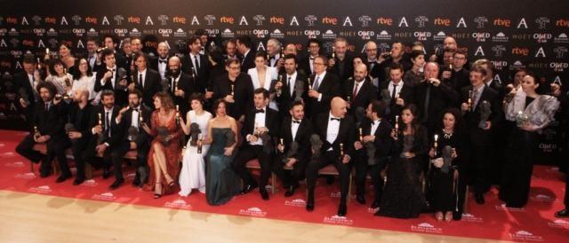 Palmarés Oficial Premios Goya edición 31 / Carla Babón