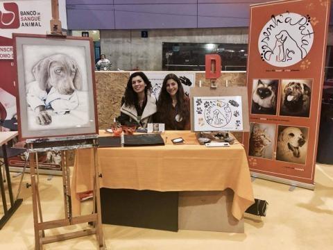 A Desenh'a Pata foi uma das muitas iniciativas de apoio aos animais que marcou presença