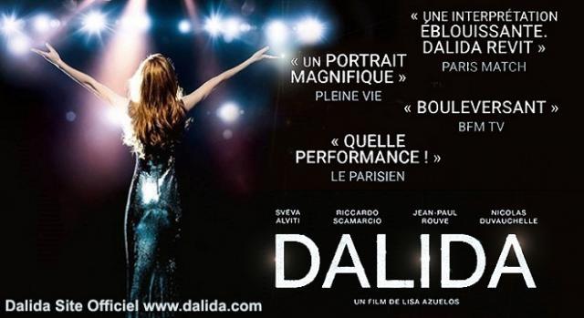'Dalida': la locandina del film in prima tv su Rai 1