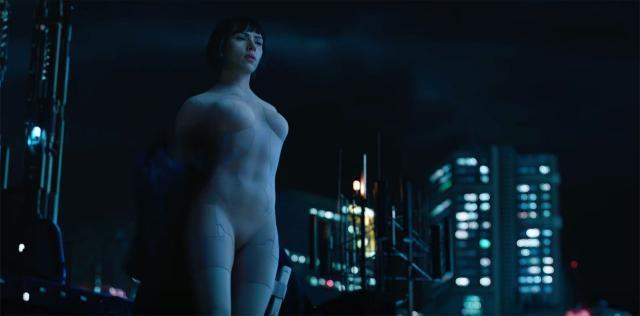 Scarlett Johansson empresta toda sua beleza à major Motoko em 'Vigilante do Amanhã' (divulgação)