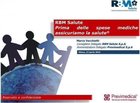 RBM Salute Prima delle spese mediche assicuriamolasalute - PDF - docplayer.it
