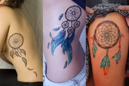 Tatuagens com filtro dos sonhos que o público feminino adora