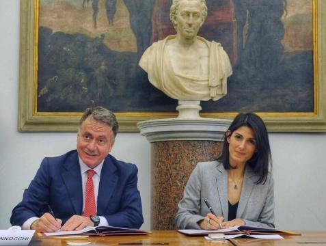 Virginia Raggi, attuale Sindaco del Comune di Roma.