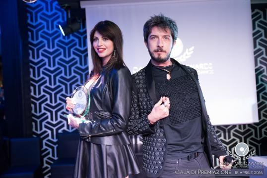 Carola Varini (Miglior Ragazza Immagine 2015) e Paolo Ruffini