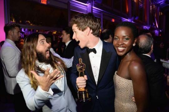 Oscars 2015: Stars spotted at the Vanity Fair after party ... - chron.com