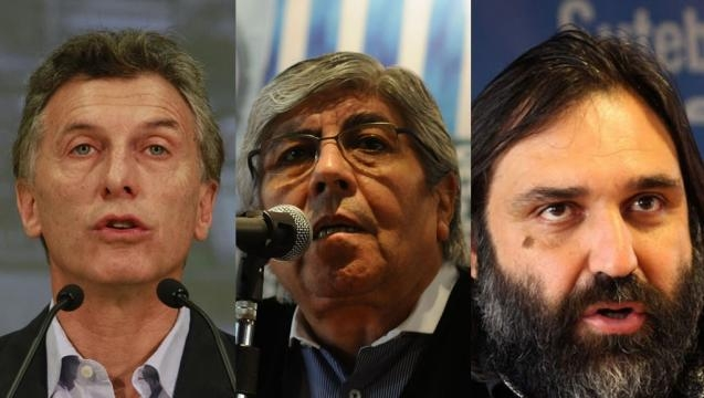 Macri, Moyano, Baradel: Así no | Diario Hoy - diariohoy.net