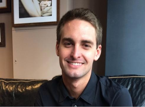 Snap, Inc. (NYSE: SNAP) founder Evan Spiegel / cellanr, Wikimedia Commons CC BY-SA 2.0