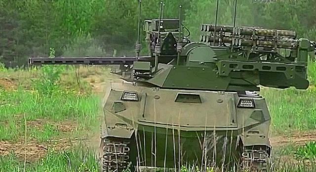 Czołg-robot Uran został już przyjęty na uzbrojenie.