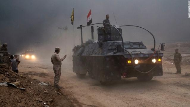 Iraq: 28 hours of the battle in Mosul / Photo by CNN.com via Blasting News library