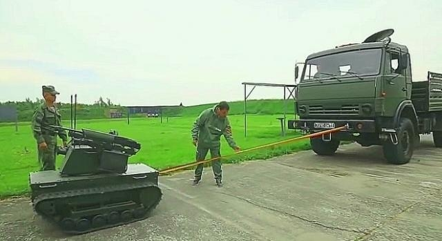 Nie należy lekceważyć możliwości mniejszych rosyjskich czołgów robotów.