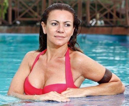 A actriz Silvia Rizzo vai ser participante