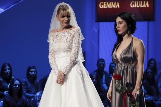 Gemma Galgani e Giulia De Lellis protagoniste di Uomini e donne- Le olimpiadi della tv.