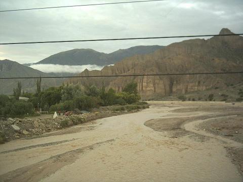Rio Grande en Tilcara - Jujuy - Argentina