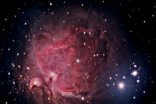 Great Orion Nebula   Bob Moler's Ephemeris Blog - wordpress.com