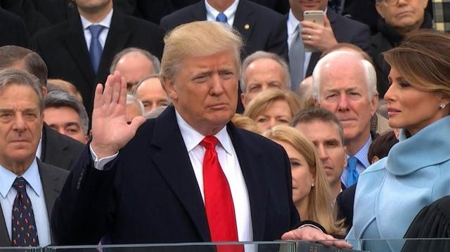 Watch Donald Trump Take the Presidential Oath of Office - NBC News - nbcnews