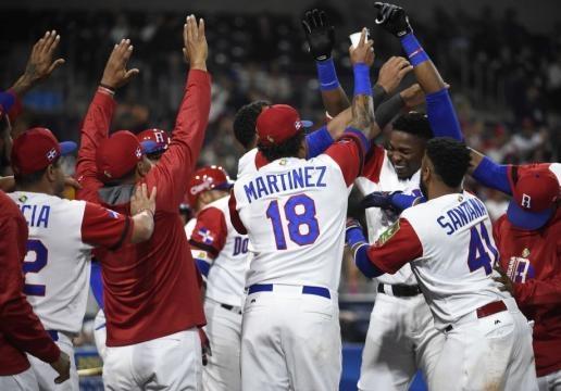 Gregory Polancoo fue el catalizador a la ofensiva de Dominicana. newsday.com