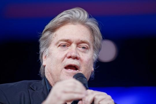 White House Chief Strategist Steve Bannon served as chair of Breitbart, said to be a publication of the alt right / Michael Vadon, Flickr CC BY-SA 2.0