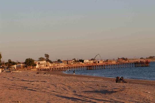 Poco y desordenado desarrollo en la Bahía de Kino.