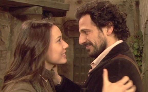 Aurora Castro con il suo grande amore Conrado