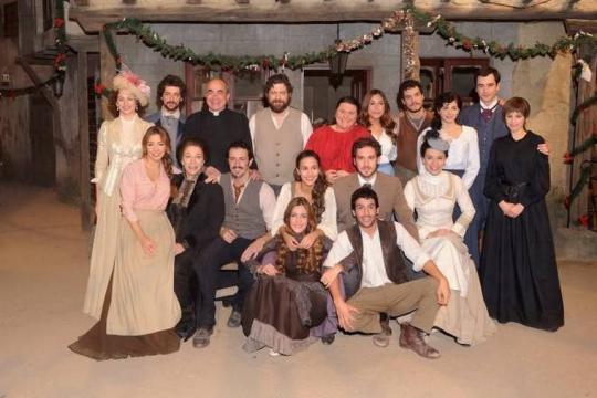 Il cast del Il Segreto di Puente Viejo nella prima stagione della soap