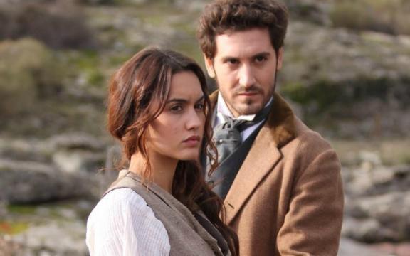 La prima indimenticabile coppia de Il segreto, Pepa Balmes e Tristan Castro