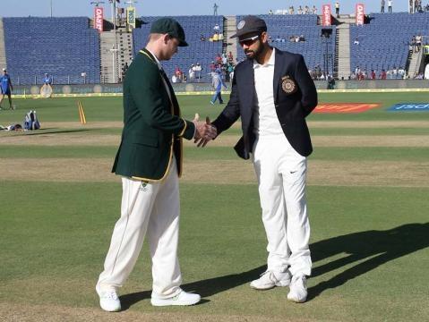 Live Cricket Score India vs Australia, 1st Day 1 in Pune - ndtv.com