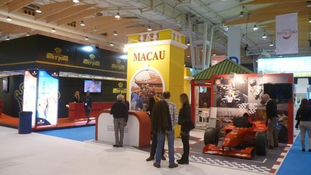 Macau foi um dos países presentes na BTL
