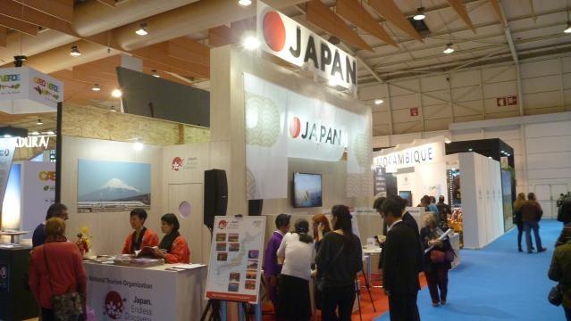 O Japão marcou presença na BTL