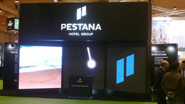 Presença forte do Grupo Hoteleiro Pestana