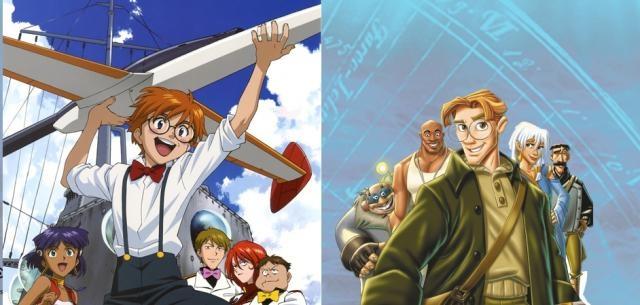 Atlantis y Nadia pordían ser lo mismo