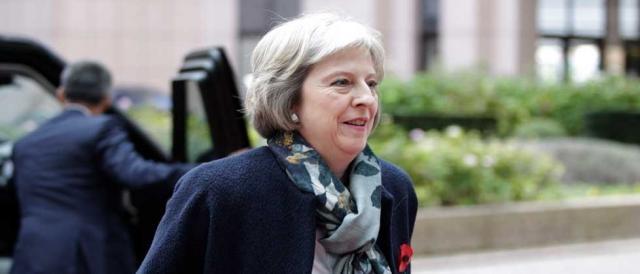 Il premier britannico Teresa May