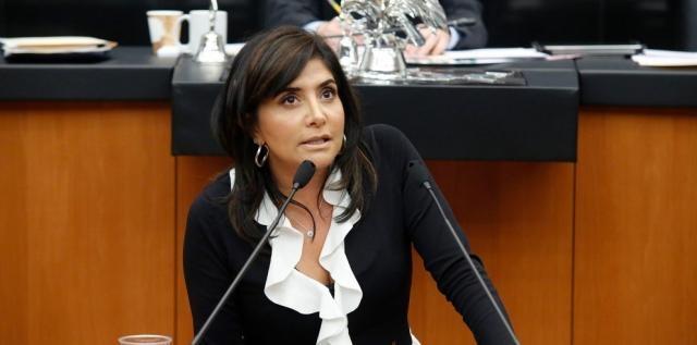 Presidenta del PRD con amnesia