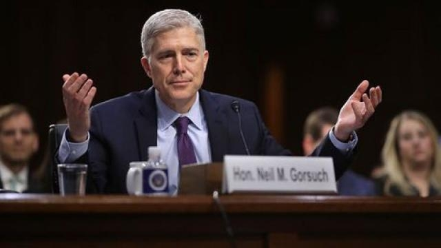 Highlights from Neil Gorsuch's confirmation hearings – video | RW ... - rwstory