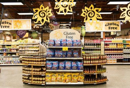 Os hipermercados aumentaram a diversidade alimentar de produtos alimentos isentos de glúten e lactose