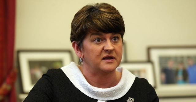 Arlene Foster, leader of the DUP party ... - belfastlive.co.uk