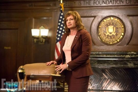 David Duchovny returns as Agent Denise Bryson / Photo via Entertainment Weekly