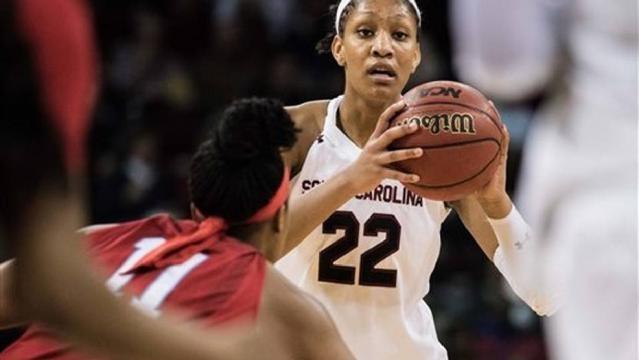 South Carolina Women's Basketball team runs record to 20-0   WPDE - wpde.com