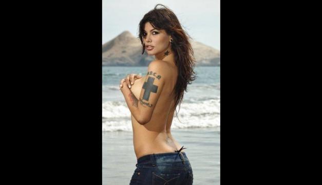 Angie Jibaja: La peruana que causó polémica en Chile (FOTOS) - peru.com